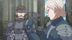 Solid Snake and Raiden anime Anime Couples Manga, Cute Anime Couples, Anime Girls, Raiden Metal Gear, Snake Metal Gear, Metal Gear Solid Series, Metal Gear Rising, Gear Art, Fandoms