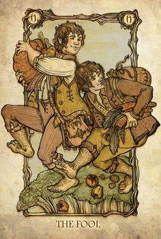 Los personajes del Señor de los Anillos como Arcanos Mayores, Olga Levina