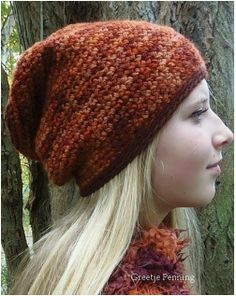 Song of Samhain - Free crochet hat pattern by Atelier MOS. Any yarn weight, any hook size, pattern is in English and Dutch.