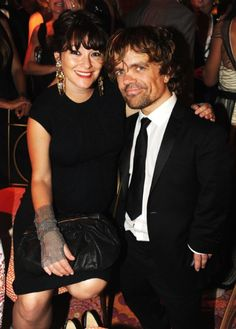 Peter Dinklage and wife Erica Schmidt - <3 her chain mail gloves!