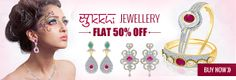 Sukkhi Jewellery: Get best sukkhi fashion jewellery online at lowest price in India. Infibeam is one of the popular online store where you will buy sukkhi jewellery through online shopping portal with free shipping in India. Shop great collection of #sukkhijewellery like rings, earrings, necklace, bracelets, pendants & More..