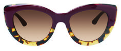 Miss Z - Rowley Eyewear Purple Tortoise. Elegant way to show a wild side. Grrrr.