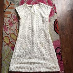Kate Spade New York White Lace Dress
