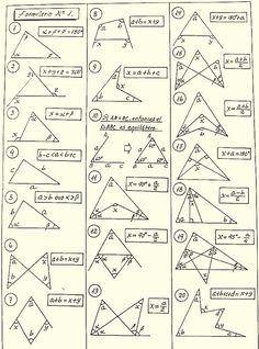 Geometry Formulas, Math Formulas, Math Formula Chart, Math Tutorials, Math Charts, Maths Solutions, Math Notes, Physics And Mathematics, Math Vocabulary