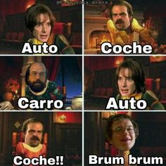 Read 97 from the story Stranger Things Memes by STeggos (uǝɹɐꞰ) with reads. Funny Spanish Memes, Spanish Humor, Funny Memes, Stranger Things Funny, Stranger Things Netflix, Starnger Things, Saints Memes, Will Byers, Young Celebrities
