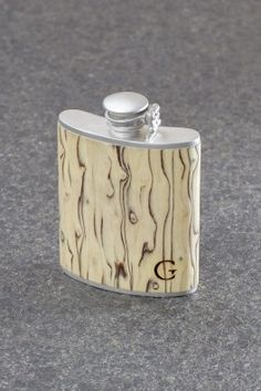 """Greenland"" Gentlecask - Handmade Hipflask (sandblasted finish) From € 99,00"