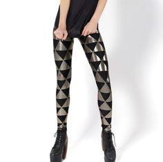 black & silver triangle
