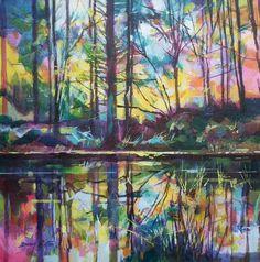 Meadowcliff Pond 40 x 40cm  Ref: 013-026   www.dougeaton.co.uk
