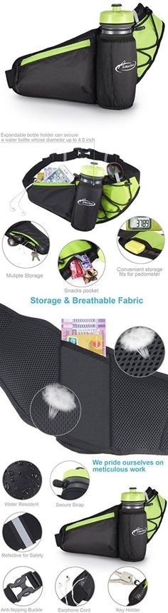 Running Belts 179802: Fanny Pack Aiholes Waist Pack With Water Bottle Holder Waterproof Running Belt -> BUY IT NOW ONLY: $52.26 on eBay!