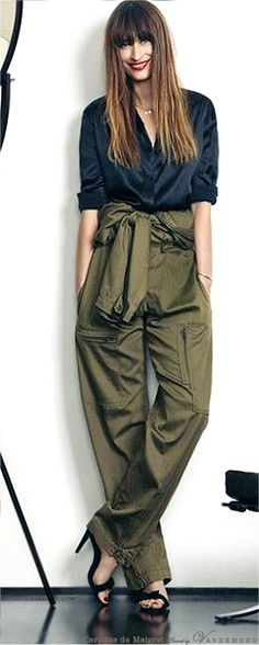 Navy and Army Green