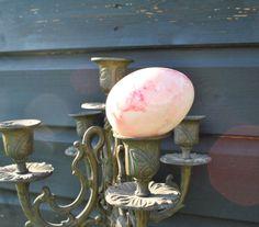 Vintage natural stone egg - Collectable - Rose Quartz £5 Love