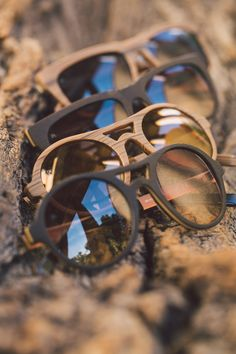1a0f26a579a Die Sonnenbrillen der rocco by Rodenstock Woodlook Kollektion. 100% Look.  0% Wood