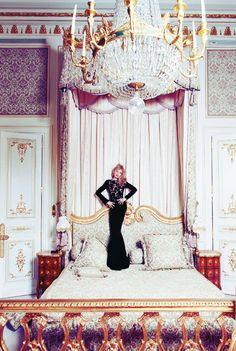 Arielle Dombasle @ Ritz Paris