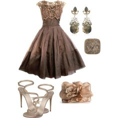 1950s party dress revisited