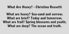 Poems Of Christina Rossetti - Poemas en inglés. What is pink? What is red? Poem Quotes, Qoutes, What Is Pink, Poems In English, Christina Rossetti, Writing Poetry, Powerful Words, Picnics, Favorite Quotes