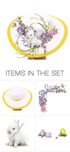 """""""Easter Bonnet"""" by kari-c ❤ liked on Polyvore featuring art"""