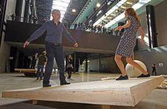 Adult playground at Tate Modern