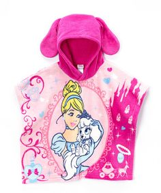 Another great find on #zulily! Pink Palace Pets Hooded Poncho - Toddler #zulilyfinds
