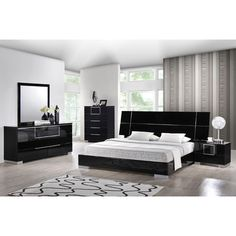 Hailey Panel Customizable Bedroom Set - http://delanico.com/bedroom-sets/hailey-panel-customizable-bedroom-set-590700227/