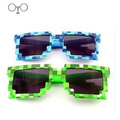 Just added for all of those little Minecraft fans out there! Durable sunglasses with UV protection.One size fits most children.  Style: SquareLenses Optical Attribute: GradientFrame Color: WhiteFrame Color: GreenFrame Color: BlueFrame Color: PurpleFrame Material: PlasticGender: BoysDepartment Name: ChildrenLenses Material: AcrylicLens Height: 50mmLens Width: 56mmBrand Name: MinecraftModel Number: NO.1Item Type: EyewearEyewear Type: SunglassesFast Delivery: Usually in 48 hoursColors: 4…