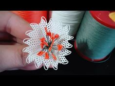 # needle # needlework Different flower model making / Design flower models / PART 1 Trending now flowers - Дизайн дома Flower Model, Needle Lace, Different Flowers, French Lace, Craft Work, Needlework, Diy And Crafts, Make It Yourself, Sewing
