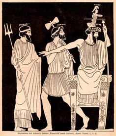 Ancient Greece has something to say about the three-person baby debate Ancient Greek Art, Ancient Greece, Greek Drawing, Greek Paintings, Ancient Greek Architecture, Gothic Architecture, Greek Pottery, Legends And Myths, Athena Goddess