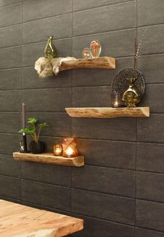 B & B, Bathroom Interior, Plank, Floating Shelves, Sweet Home, My House, Wall Decor, Inspiration, Home Decor