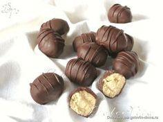 самые настоящие конфеты (мож когда решусь)Состав: 250-300 г крупного миндаля 200 г сахара 250 г белого шоколада 50 г сливочного масла