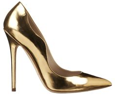 3cfeac4b48c Shoe Luv  The Daily Heel  The Brian Atwood Besame Pump in Gold Leather
