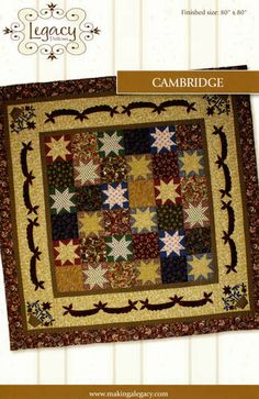 Primitive Quilting Pattern  Cambridge by by PrimitiveQuilting, $9.00