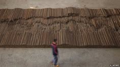 A monumental work by Chinese dissident artist Ai Weiwei will be the heaviest sculpture ever shown at the Royal Academy of Arts.