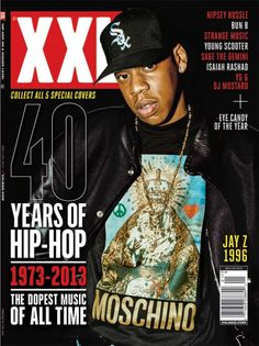 JayZ - 40 Years of Hip Hop (XXL)
