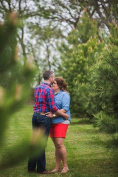{Real Curvy Engagement} Day to Night Engagement Session | We Chase The Light