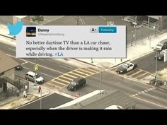 Car Chases and Twitter Traffic on CNN