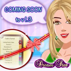 Keep tabs on your Movie Count, Fan count, Popularity and other cool info in one convenient Location in Dream Star!  Watch out for the Celebrity Journal, coming soon to #dreamstar :)  Get Dream Star for FREE on #iphone #ipad - https://itunes.apple.com/app/dream-starsm/id550979454?mt=8