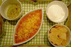 Receitas mexicanas (Chilli, Guacamole e Sour Cream)