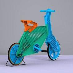 Frii Recycled Plastic Bike | Cool and environment friendly