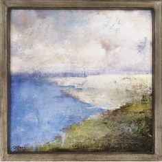 Paragon Coastal Afternoon Two Framed Print - Carney - 1302