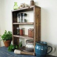 47 Elegant Diy Storage Rack Ideas For Small Kitchen. The building blocks of the heart of homes, kitchen cabinets are among the major features that are mainly involved in most remodeling projects. Country Kitchen Spice Racks, Small Spice Racks, Wooden Spice Rack, Rustic Country Kitchens, Country Kitchen Designs, Rustic Kitchen, Kitchen Rack, Kitchen Ideas, Diy Storage Rack