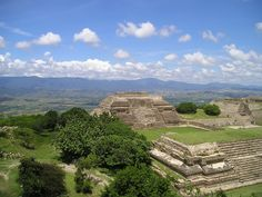 The ruins of Monte Alban, a holy Zapotec city, overlooking the Oaxacan Valley...difficult to comprehend, but an amazing experience