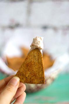 Healthy Doritos - My Homemade Grain-Free Tortilla Chips - Sprinkle of Green