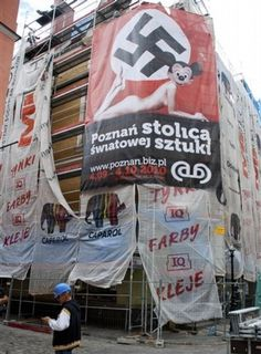 """Headline: """"The Art of the Left: Nazi Sexy Mouse, Genocide as Art"""" (Atlas Shrugs, Thursday, Mickey Mouse Images, Mickey Mouse Head, Culture Jamming, American Cartoons, Berlin Art, Russian Orthodox, Outdoor Art, Female Bodies, Poland"""