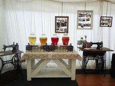 vintage wedding decor Wedding Decorations, Dining Table, Furniture, Vintage, Home Decor, Decoration Home, Room Decor, Dinner Table, Wedding Decor