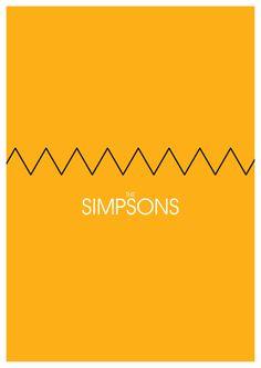 The Simpsons (1989–) ~ Minimal TV Series Poster by Pedro Rivera #amusementphile