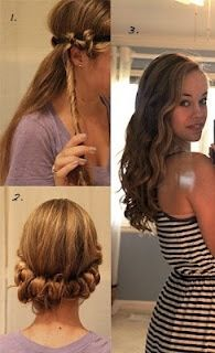 No heat wavy hair-have to try this!