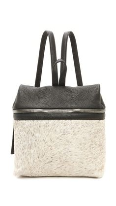 I've been searching for a great backpack purse and I think I found it in KARA Backpack $640 #kara #shopbop