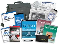 ASA Private Pilot Flight School Kit - Part 141 for sale - Atpl Theorie - Air Force Private Pilot License, Ground School, Becoming A Pilot, Flight Bag, School Kit, Helicopter Pilots, Airplane Pilot, Student Guide, Test Prep