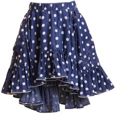 Drawstring Skirt Faded Spots Spots - Paper Wings - Buckets and Spades for kids