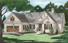 House Plan The Foxcroft by Donald A. Gardner Architects