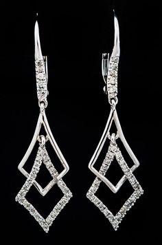 sleek drop earrings - Google Search